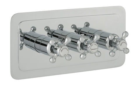 chester-crosshead-three-outlet-concealed-thermostatic-shower-valve-horizontal-nickel-76692nk