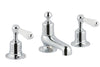 Chester Lever 3 Hole Long Nose Basin Mixer - Nickel [85193 NK]