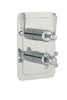 Chester Lever Two Outlet Concealed Thermostatic Shower Valve Vertical -Nickel [85671NK]