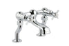 Chester Pinch Deck Mounted Bath Filler - Chrome [98223]