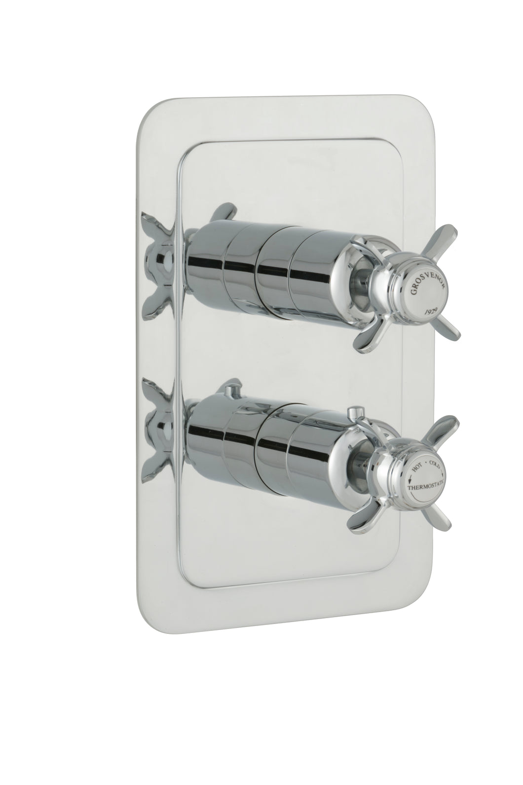 Chester Pinch Thermostatic Conceal 1 Outlet Shower ValveVertical Chrome