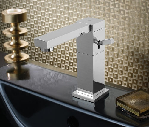 Single lever basin mixer swivel spout, without pop-up waste, HP 1 [ANG-53011]