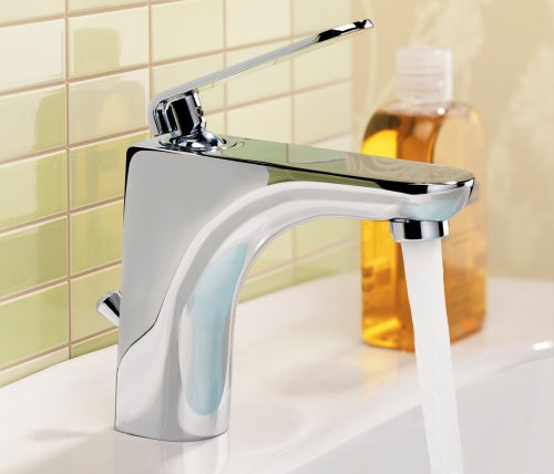 Flora Single Lever Basin Mixer with Pop-up Waste [87051]