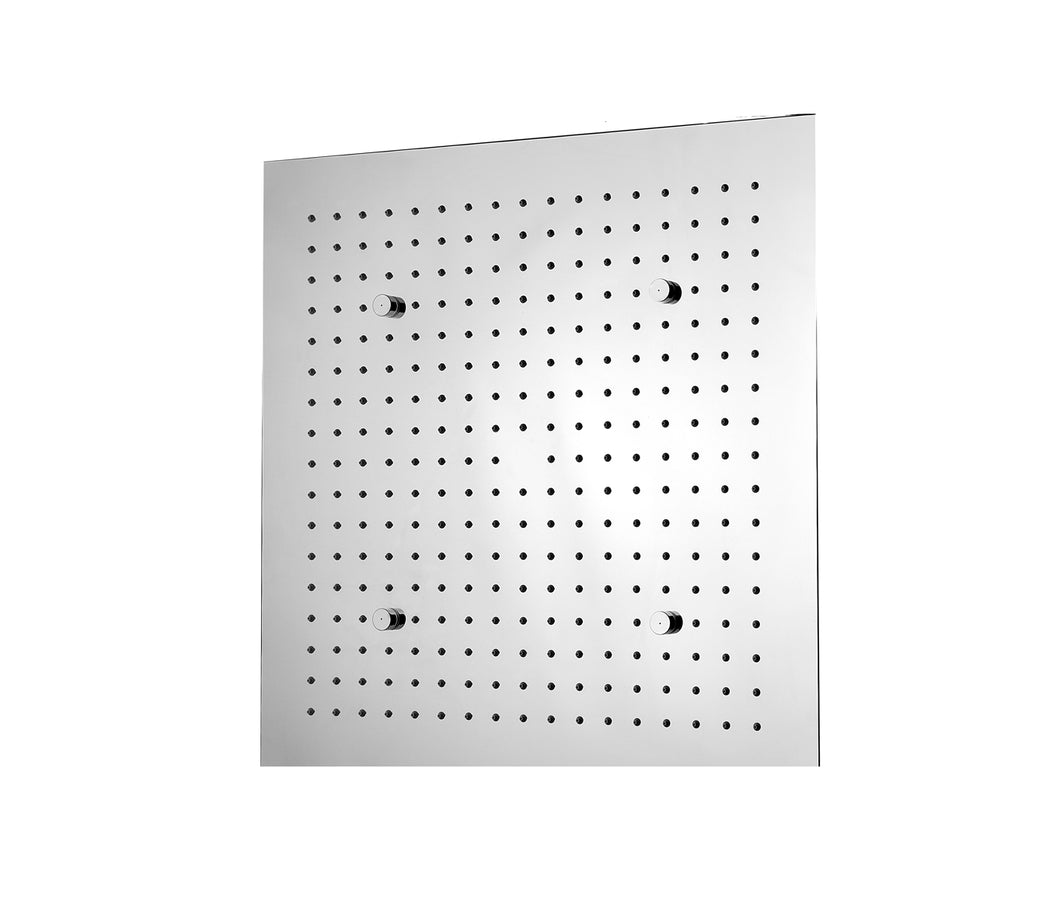 Aquamist Square Overhead Shower with Mist Function - Tapron