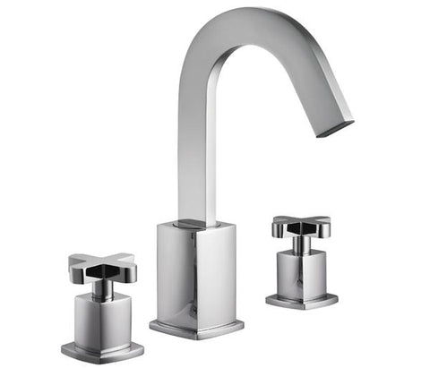 Antler 3 hole basin mixer with pop up waste, LP 0.2  [44191]