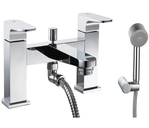 Base Deck Mounted Bath Shower Mixer - Tapron