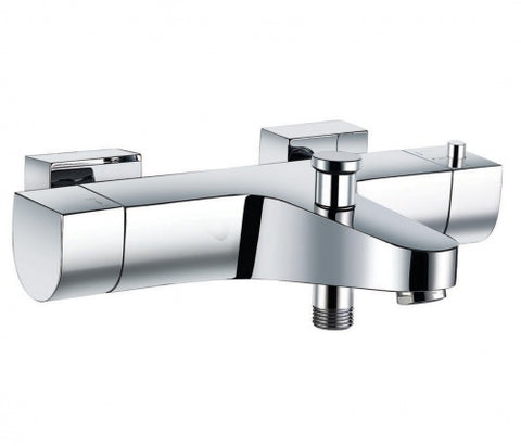 Doris Thermostatic Wall Mounted Bath Shower Mixer [B657]
