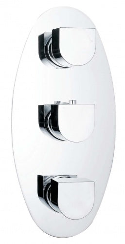 Base Concealed 2 Outlet Shower - Tapron