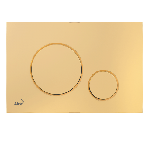 Round Gold Plate