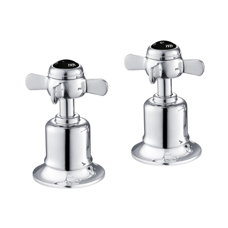 Chester Black Pinch Deck Mounted Panel Valves