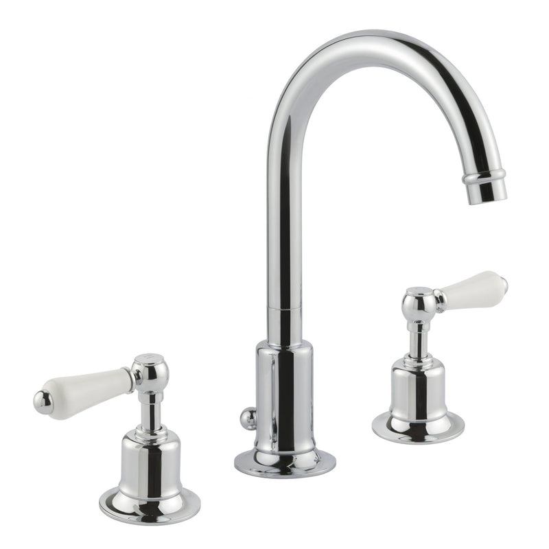 Chester Lever 3 Hole Basin Mixer