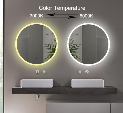 SMD-LED Touch Sensitive Defog Mirror 600mm [TRGZ600]