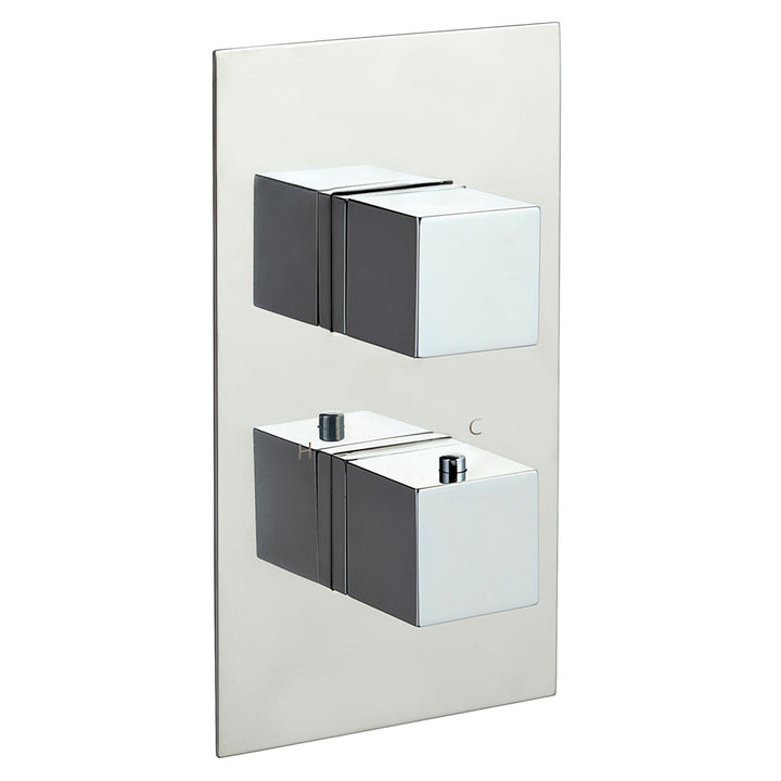 Gaia 3 Outlet Thermostatic Shower Valve - Vertical