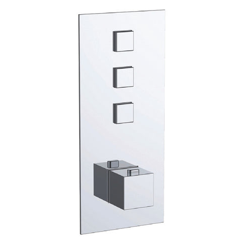 Gaia 3 Outlet Touch Thermostatic Shower Valve [866123]