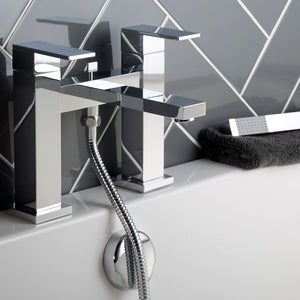 Gaia Deck Mounted Bath Shower Mixer