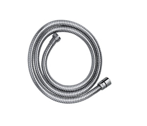Chrome Plated, Metal Hose 1.50m - Tapron