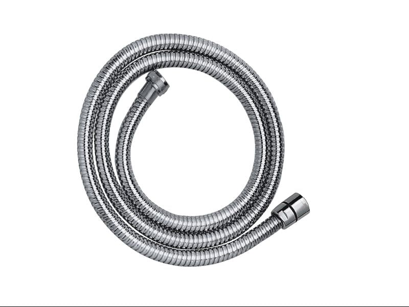 Chrome Plated , Metal Hose, 1.25m - Tapron