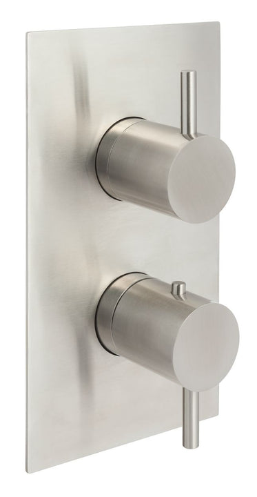 Thermostatic Shower Valve Stainless Steel | tapron.co.uk