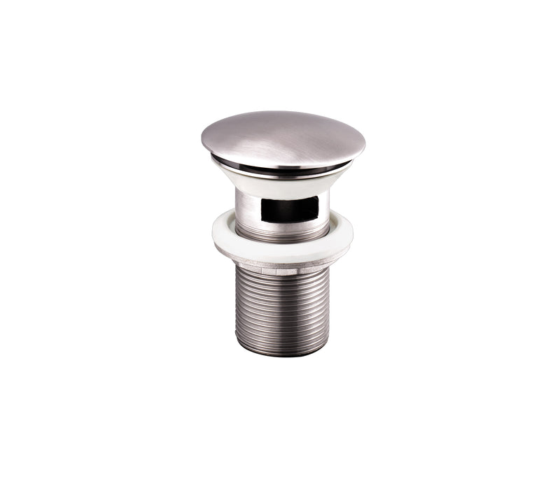 Stainless Steel Slotted Basin Clicker Waste | tapron.co.uk
