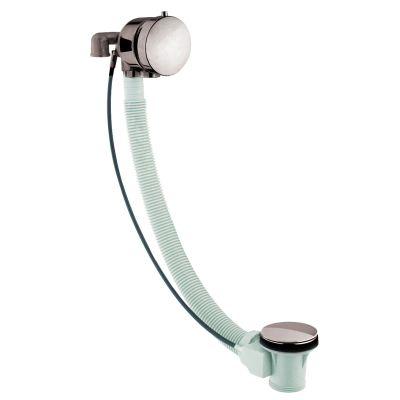 Inox Brushed Stainless Steel Floor Mounted Bath Shower Mixer with Handset