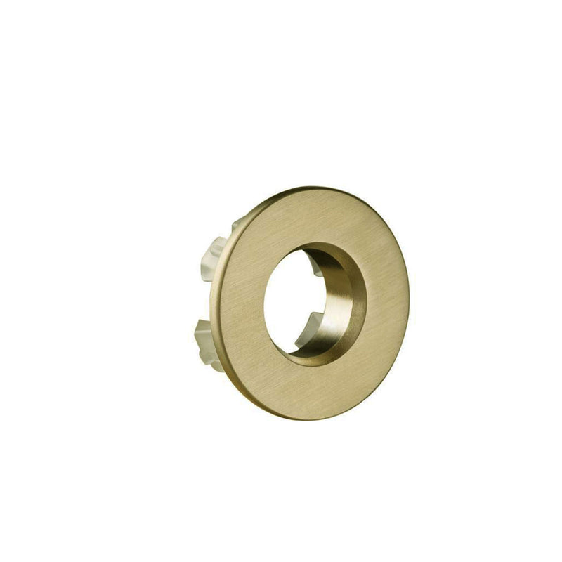 Gold Overflow Cover for Pace Basin made from Premium Quality Brushed Brass composition Ensuring Durability [P001BBR]