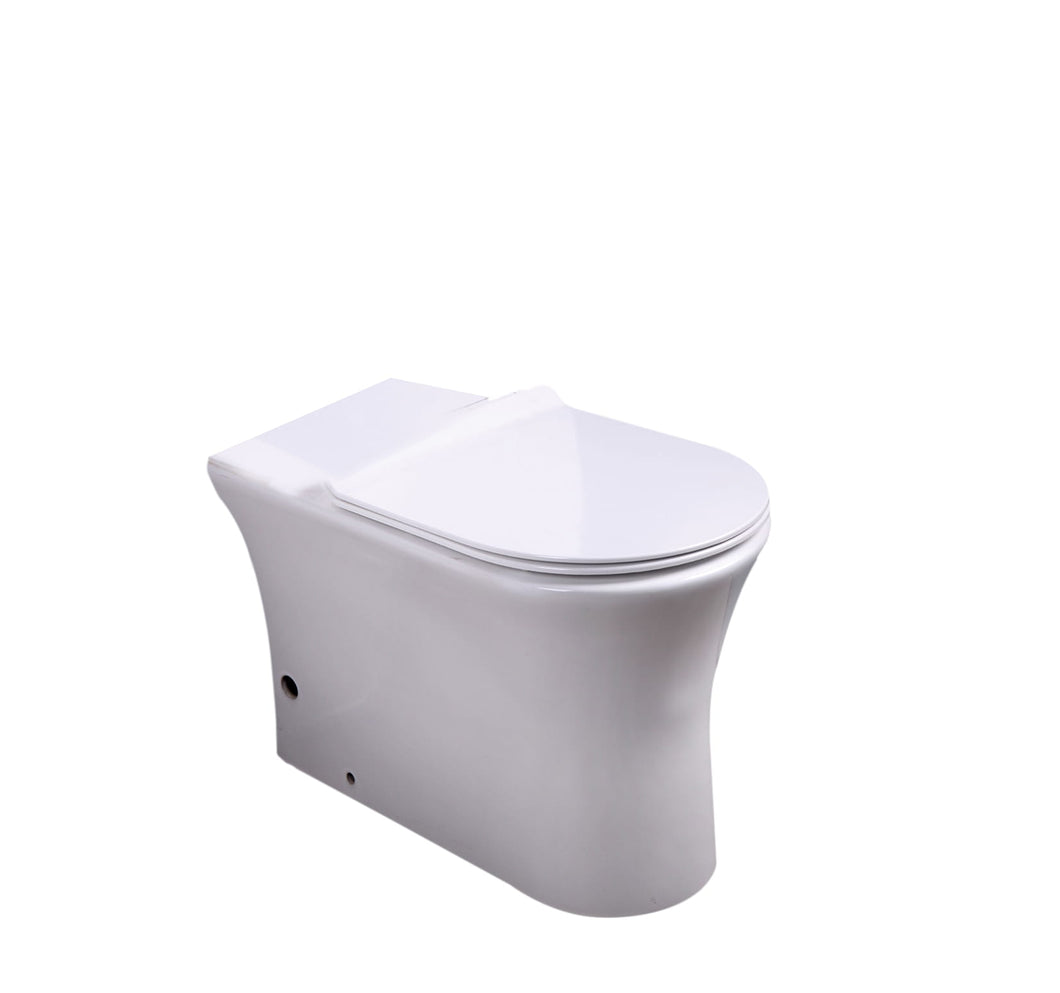 Back to Wall WC Pan with Soft Close UF Seat Cover