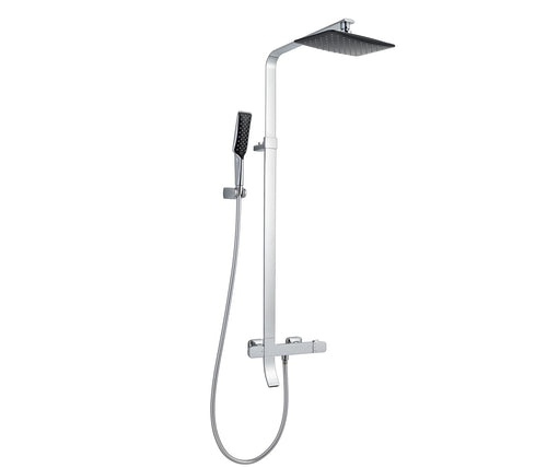 Shower Pole with Hand Shower and Bath Spout  [MUL1]