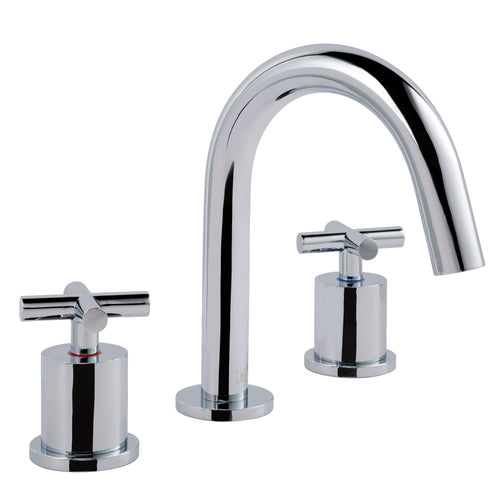 Solex 3 Hole Deck Mounted Basin Mixer