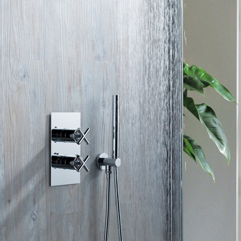 Solex Thermostatic Concealed 1 Outlet Shower Valve