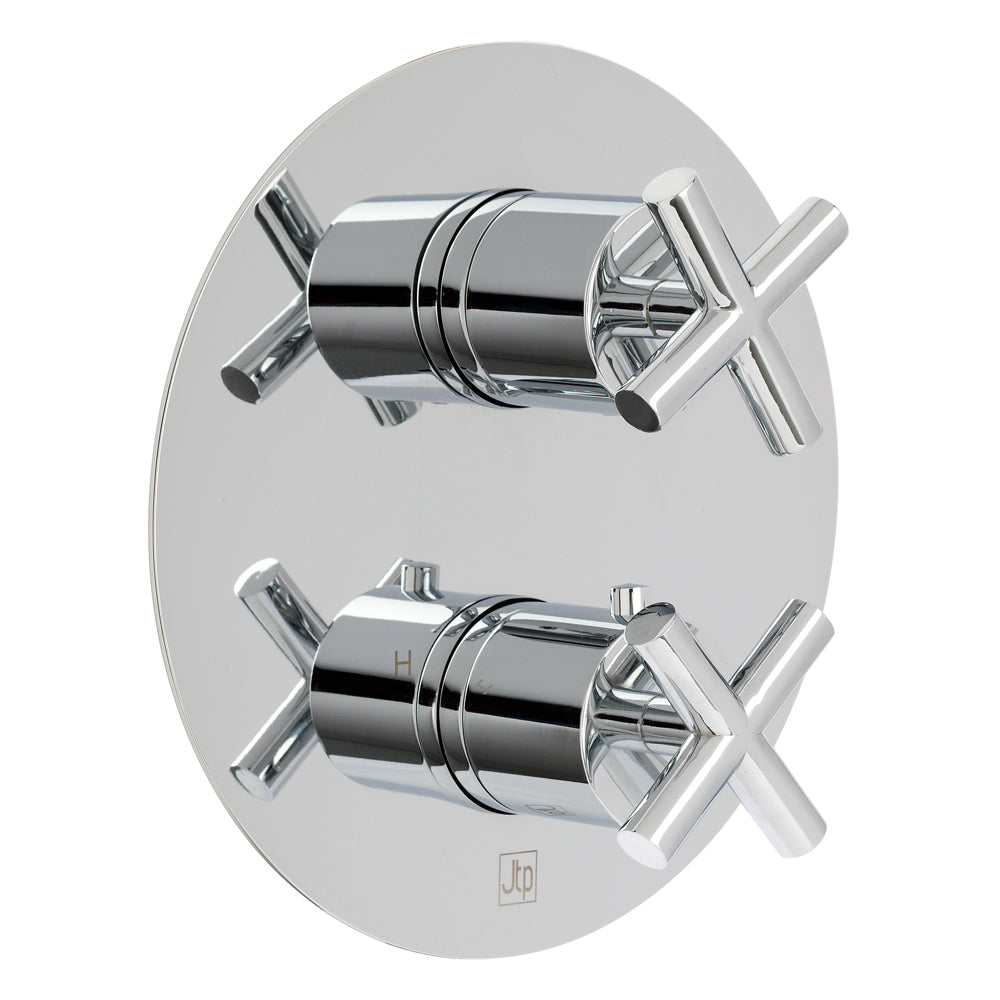 Solex Thermostatic Concealed 2 Outlet Shower Valve