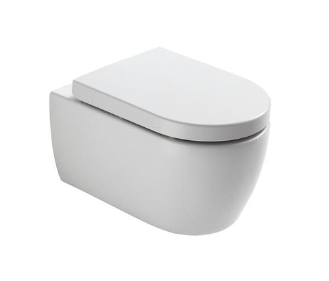 Wall hung WC pan & soft close UF seat [N003]