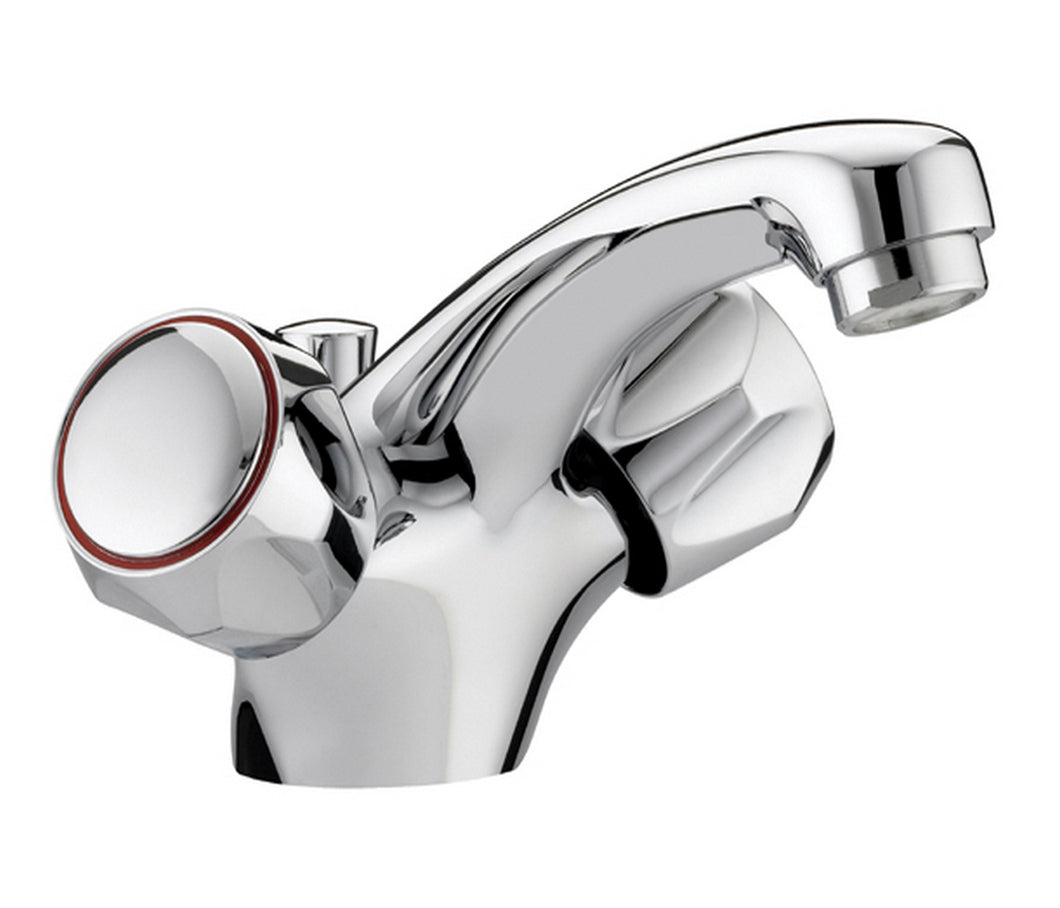 Astra mono basin mixer with pop up waste, LP 0.2 - Tapron