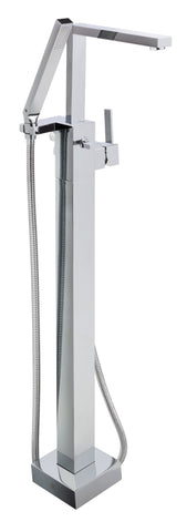 Gaia lever side lever floor standing bath shower mixer with kit, HP 1 [86158SD]