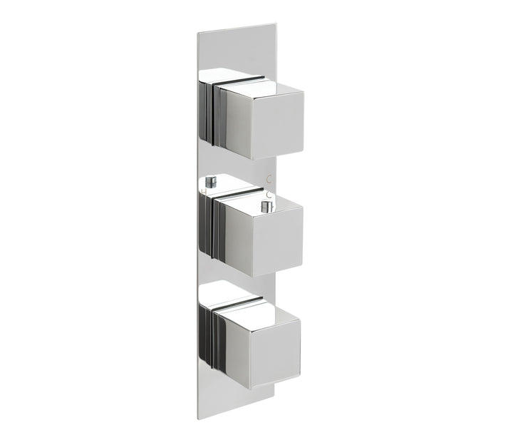 Gaia Slimline 3 Outlet Thermostatic Shower Valve