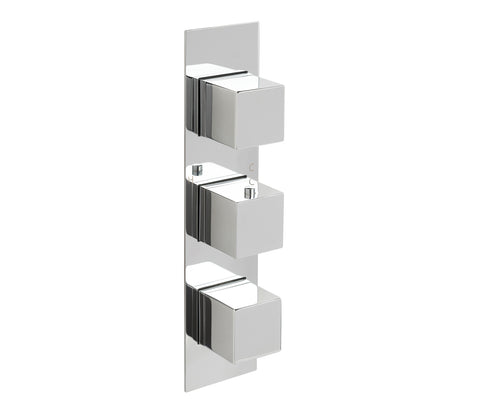 Gaia Slimline 3 Outlet Thermostatic Shower Valve [88691]