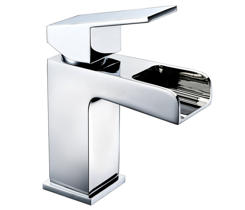 Cami single lever basin mixer with click clack waste, LP 0.2 - Tapron