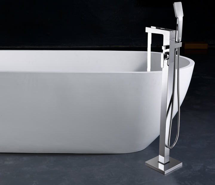 Cami Floorstanding Bath Shower Mixer with Kit - Tapron