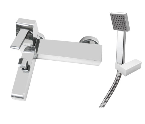 carlo-wall-mounted-with-flanges-single-lever-bath-shower-mixer-with-kit-hp-1-42119w-m