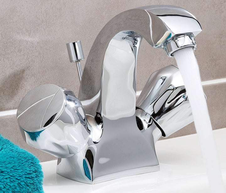 Continental mono basin mixer with pop up waste, LP 0.2 - Tapron