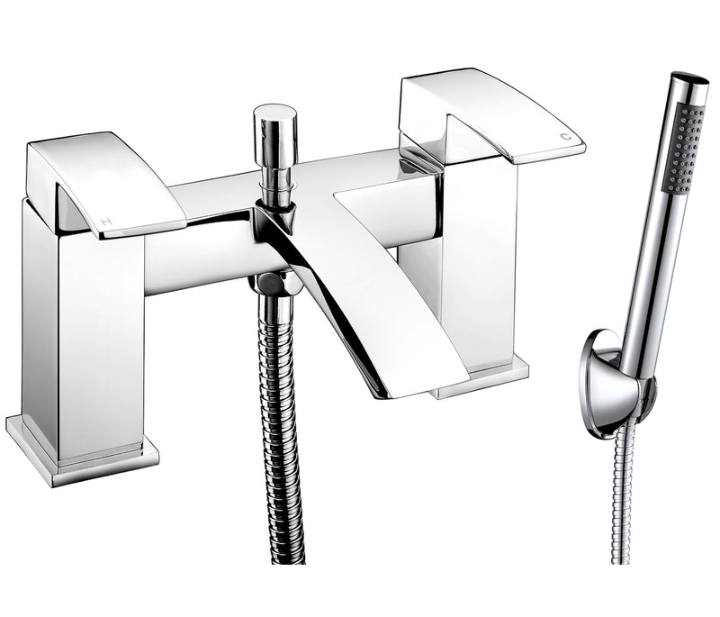 Dash deck mounted bath shower mixer with kit, LP 0.2 - Tapron