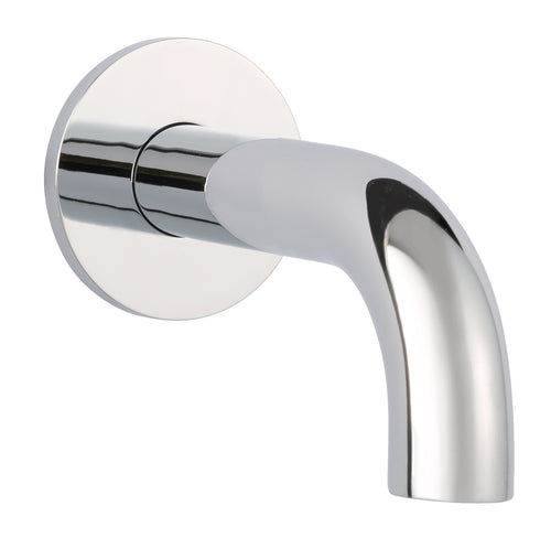 Florence basin spout with wall flange, 120mm - Tapron