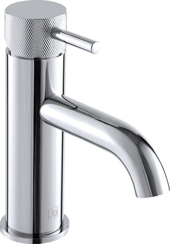 Florence Single lever basin mixer without pop up waste. Designer handle. LP 0.2 [DH15008A]