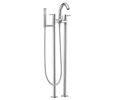 Floor standing bath shower mixer, HP 1 - Tapron