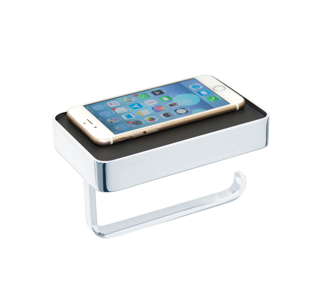 Paper Holder with Mobile Phone Shelf