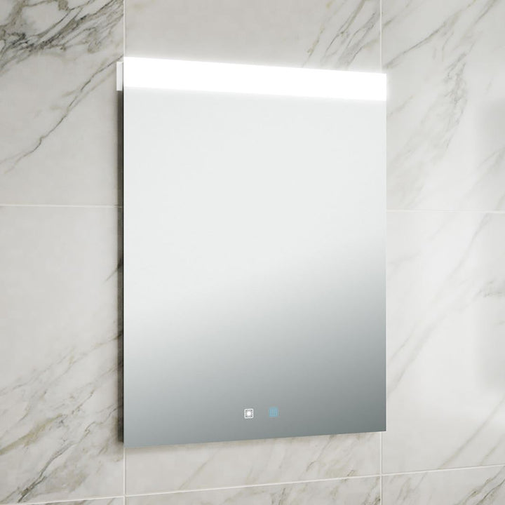 Mirror with Heated Pad and Touch Switch - Vertical Orientation Only