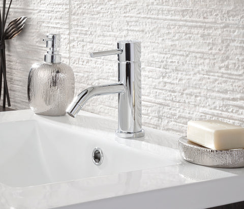 Florence round single lever basin mixer without pop up waste, HP 1 [G9019]