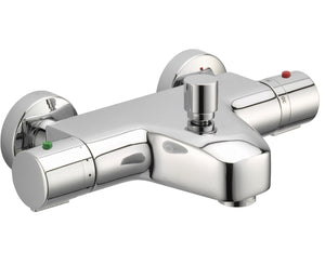 Thermostatic Bath and Shower Mixer without Kit Wall Mounted