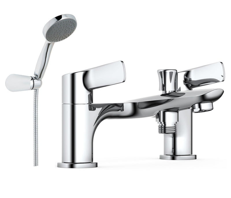 Deck Mounted Bath Shower Mixer with Kit, LP 0.2 - Tapron