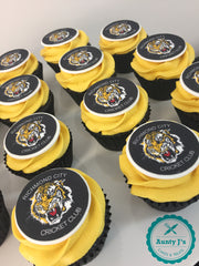 Richmond City Cricket Club Cupcakes