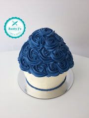 Blue Giant Cupcake